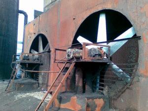 рабочие колеса вентиляторов градирен